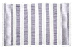 Carmel Stripe Beach Towel, Lavender