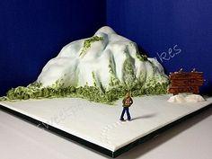Cake Mountain cake!