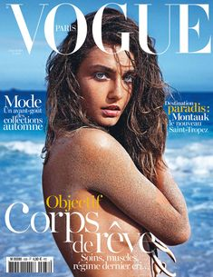 Andreea Diaconu photographed by Mario Sorrenti for Vogue Paris June/July 2013, Issue No. 938 in St. Barth.