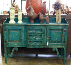 Western Decor | Rustic Tables | Southwestern Furniture | Agave Ranch -love the decor from agave ranch!