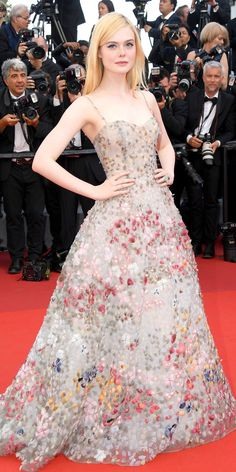 Elle Fanning at Cannes