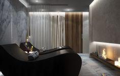 Salon of beauty designed by Arno Architetture. Starlongue by Starpool