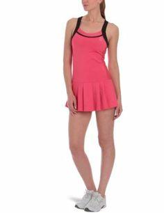 K-Swiss Women's Wide Strap Dress - Rouge Red/Black (XL) K-Swiss. $79.94