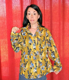great blog about thrift store re-fashions, a new outfit a day!