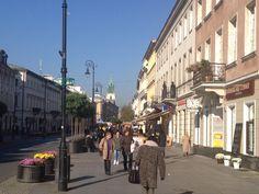 Nowy Zwiat en Varsovia (Polonia)