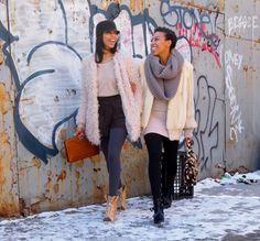 Janelle + Jessica ~ Girls off 5th blog