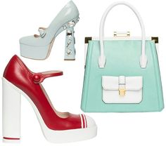 I love the color blocking...