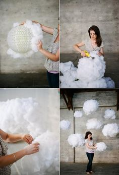 Dreamy DIY Cloud Wedding Backdrop | Weddingomania - Weddbook
