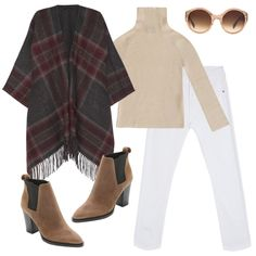 3 Chic Ways To Style A Poncho | The Zoe Report
