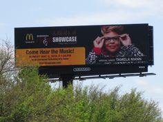 Digital Billboard on I-26. The McDonald's Choir Showcase is this Sunday, May 5th. See you there, Charleston.