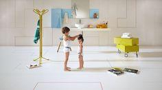 Play with your imagination. #lagodesign #interiordesign #bathroom #basin #storage #wallcovering