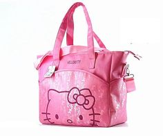 42833b5b5745 31 37 14 cm Canvas Baby Diaper Bag For Mom Mummy Mother Hello Kitty  Maternity Nappy Bags Thermal Insulation Stroller Bag
