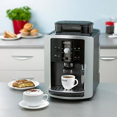 Buy Krups EA8005 Espresseria Bean-to-Cup Coffee Machine, Black Online at johnlewis.com