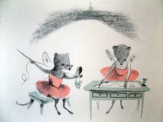 stare ilustracje dla dzieci: Adrienne Adams