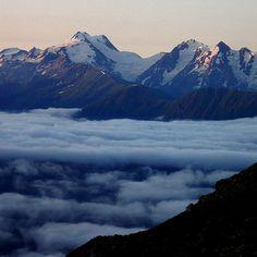 Svaneti Range and Laila (Layla) Most Beautiful, Beautiful Places, Mountaineering, Range, Mountains, Nature, Travel, Climbing, Mountain Range
