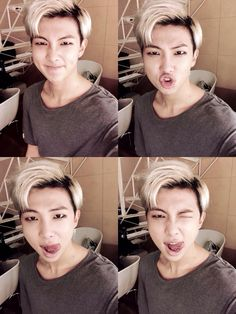 Bts| Rapmonster twitter update>>>> I can't with him rn. He's wrecking my bias!!!!