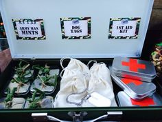 Army Birthday Party Ideas | Photo 1 of 26 | Catch My Party