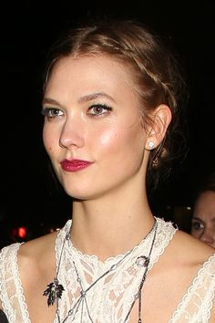 From her boxer braids at the weekend to the delicate twisted plaits at last night's Brit Awards, Karlie Kloss is becoming quite the source for hair inspiration. The trick is to not pull your hair too tight or make it look overly polished - February 24, 2016