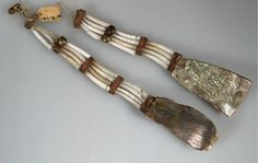 shell earrings, AMNH