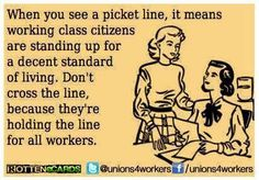 Workers United have better lives.