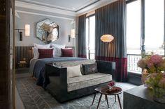 Роскошный отель Nolinski в центре Парижа   Пуфик - блог о дизайне интерьера