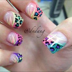 nail art ideas for short nails Get Nails, Fancy Nails, Love Nails, Fabulous Nails, Gorgeous Nails, Pretty Nails, Nail Art Modele, Acryl Nails, Uñas Fashion