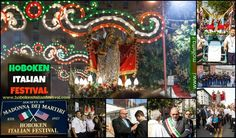 the feast of the Madonna dei Martiri  New Jersey - from Molfetta - Italy