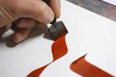 Cours de calligraphie hébraïque à Paris
