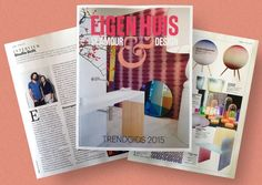 EH&I Trendgids 2015, check magazine for interview and sales promotion
