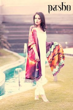Pasho Winter Collection Casual Dresses 2014 for Women #womenswear, #pakistanidresses #wear2014, #winterdresses, #wintercollection