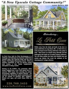 The cutest cottage homes!!