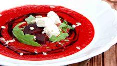 Výrazná chuť i barva této polévky skvěle doplní i slavnostní menu. Čerstvý sýr výsledek příjemně osvěží. Caprese Salad, Struktura, Recipes, Food, Menu, Soups, Menu Board Design, Recipies, Essen
