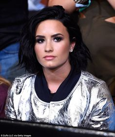 Shock split: Demi Lovato was spotted out at the UFC 199 event in Los Angeles on Saturday, one day after announcing that she and Wilmer Valderrama were ending their relationship of six years.