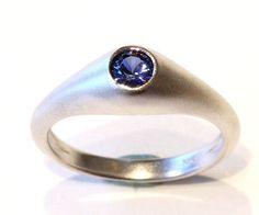 Janet Deleuse Designer Sapphire Ring