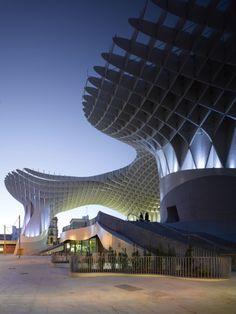 METROPOL PARASOL March 19, 2013 · Architecture The Metropol Parasol by architect Jürgen Mayer H. spans the Plaza de la Encarnacion in Seville