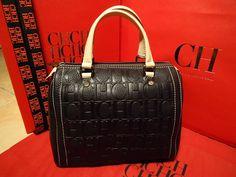 Tote handle with rings, drop. Carolina Herrera Handbags, Ch Carolina Herrera, Carrie Bradshaw, Little Bag, New Bag, Purse Wallet, Purses And Handbags, My Style, Pattern