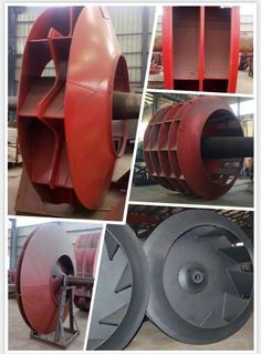 anti-corrosion impeller, anti-wear impeller, double suction impeller