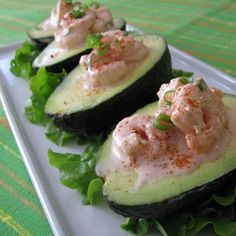 Shrimp and Avocado Salad | Had this as a Valentine's day dinner and it was a great hit.