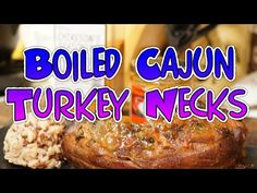 YouTube Seafood Boil Recipes, Cajun Recipes, Wing Recipes, Turkey Recipes, Boiled Turkey Wings Recipe, Easy Turkey Neck Recipe, Cajun Turkey, Smoked Turkey, Cajun Boil
