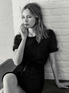 Emily Blunt, photographed by Josh Olins for Vogue UK, Nov 2016
