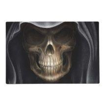 Grim Reaper Laminated Halloween Placemat