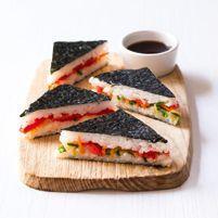 Suši sendviče (www.albert.cz/recepty) Glutenfree, Sushi, Sandwiches, Food, Gluten Free, Sin Gluten, Meals, Yemek, Eten