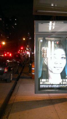 Manhattan Bus Stop