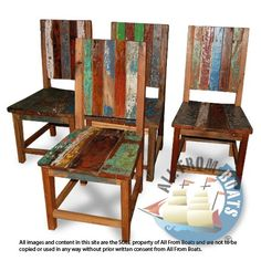 German chair made from reclaimed boat timber. Nautical, recycled, reclaimed, boatwood, boat furniture, homedecor, interior design.