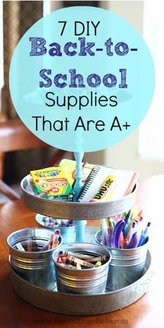 7 DIY Back-to-School Supplies That Are A+