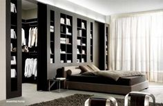 Мини вариант гардеробной комнаты
