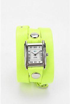 La Mer neon wrap #watch