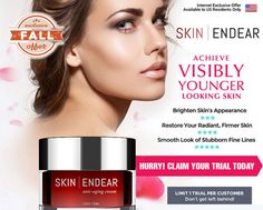 Skin Endear Anti-aging Cream is a skincare crafted by science that is expertly created to defy aging that contains revolutionary cutting edge ingredients that comes from all-natural composition. It reconstructs top and bottom layers of skin  restoring all dead skin cells and makes skin look younger, glowing, and radiant. This skin care formula works naturally and effectively to protect skin from aging.  #Skincare #Anti-Aging #Beauty