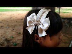 Tiara para daminha | DIY - PAP - YouTube