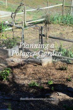 Planning a Potager Garden http://www.theelliotthomestead.com